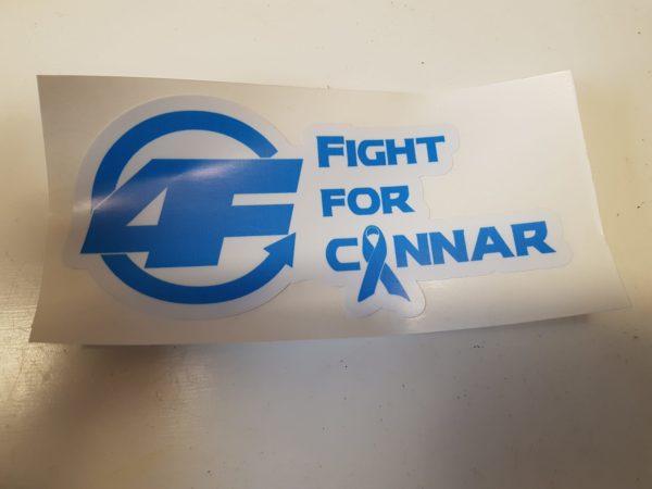 FightForConnar-logo-sticker
